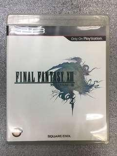PS3 game Final Fantasy XIII