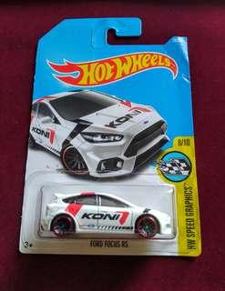 Hotwheels Ford Focus RS