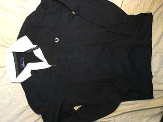 Fred Perry long sleeve polo shirt 長䄂 恤衫 size S 85% new