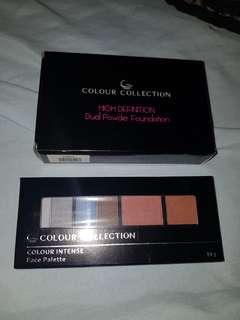 Colour collection face powder & face pallette