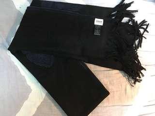 Armani collezioni made in Italy scarf 90% new 頸巾 披肩