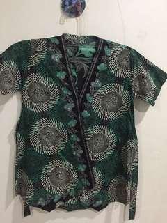 Green Batik Top 2