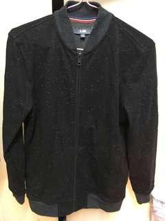 U2 baseball jacket black slim size s 90% new 棒球 外套 unisex