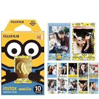 🚚 Instocks BNIB Fujifilm Minion Instax Mini Film