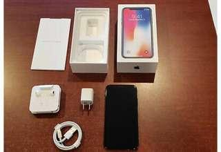 🚚 Buy 2 get 1 free Apple iPhone X - 256GB - Space Gray (AT&T) A1901 (GSM)