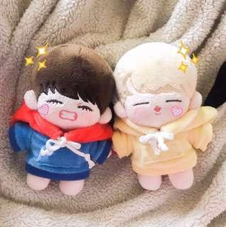 BTS Little Babies V Doll