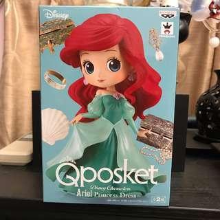🚚 Qposket 公主 公仔 迪士尼 正版公仔 貝兒 小美人魚 日版 艾莉兒