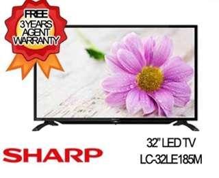 32inch Sharp TV LED (Free warranty 3 years)
