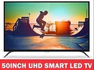 50 inch Philips LED Smart Ultra 4K HD Digital TV (Free warranty)