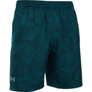 "Under Armour Launch Run 7"" Printed Shorts (Size:M)"
