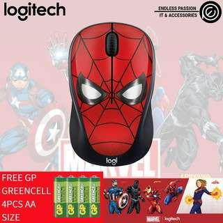 Logitech M238 Marvel Collection Wireless Mouse - Spider Man