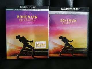 Bohemian Rhapsody 4k Ultra HD Blu-ray