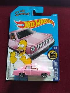 Hotwheels The Simpsons