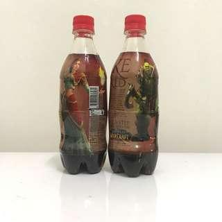 Coca-Cola Singapore Warcraft 500ml Twin PET full wrap bottle