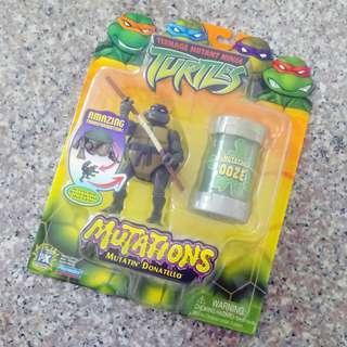 #MRTYishun ⭐Vintage Mutatin Donatello figurine Teenage Mutant Ninja Turtle TMNT 2003