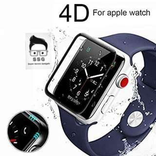 Coteetci Full Tempered Glass for iwatch 44mm S4