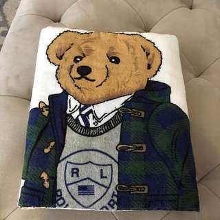 Ralph Lauren Polo Bear Bath Towels