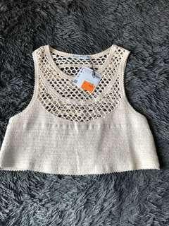Zara Knitted Crop Top