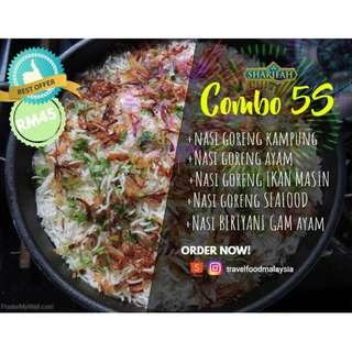 Ready to eat meals Sharifah Food Brahims Instant Nasi Goreng Fried Rice Travel food Backpackers
