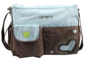Large size diaper bag blue