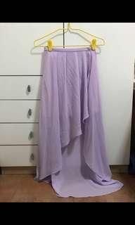 🚚 TVD Lilac fishtail hem skirt