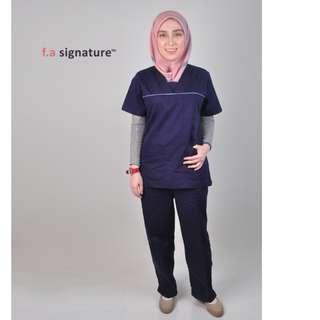 Baju uniform klinik