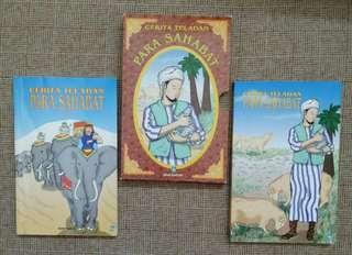 Cerita Teladan Para Sahabat (1 set)  terdiri dari 2 buku