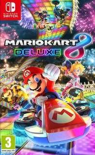 Account Nintendo Switch (Mario Kart 8, Splatoon 2, FIFA 18, Just Dance 2019, Fitness Boxing)