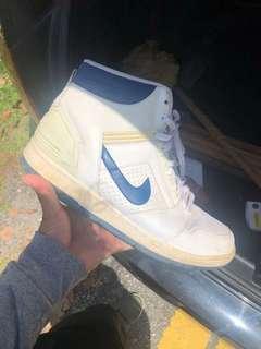 Nike Air Force blue/white