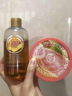 Body Shop Shower Gel & Body Butter