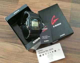 Preloved CASIO G-SHOCK DW-5600EG-9