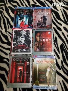 Kaset DVD Film 6pcs
