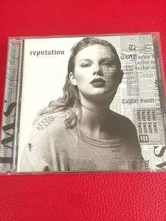 Taylor Swift Reputation Album