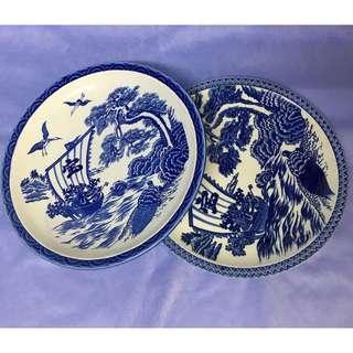 Japanese Big Plate Set