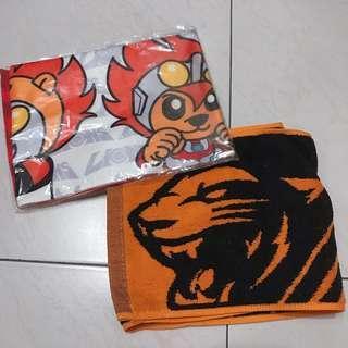 🚚 (全新) 統一獅超人力霸王毛巾