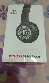 🚚 P45藍牙耳罩式耳機