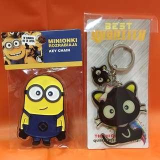 Minions/Chococat Acrylic Keychain
