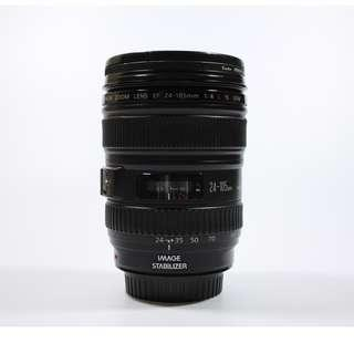 Very Good Condition Canon 24-105mm F/4L IS USM lens(580sgd)