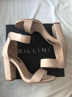 Billini NUDE Pia Heels size 7