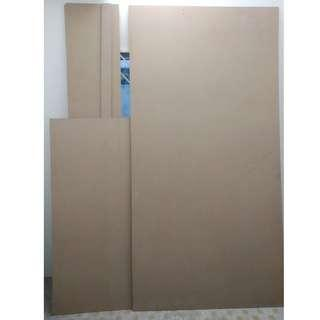 12mm MDF boards, various sizes