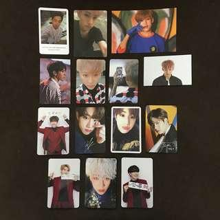 GOT7 official photocards