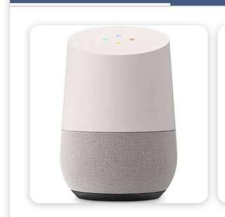 Barely used Google home $100