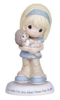 Precious Moments Figurine 133035 Im here for you when times get ruff