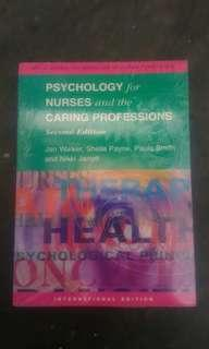 Psychology for Nurse and the Caring Profession