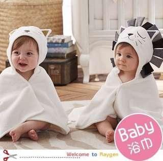 🚚 寶寶斗篷浴巾 披巾