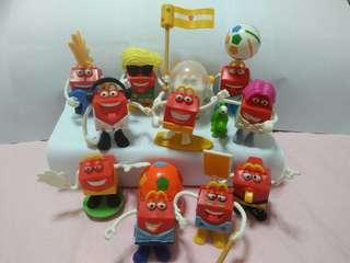 MacDonald toys(11 for $10)