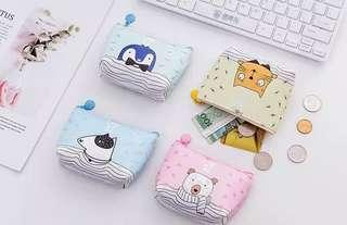 Dompet wanita korea Lucu Look At me / Coin Wallet
