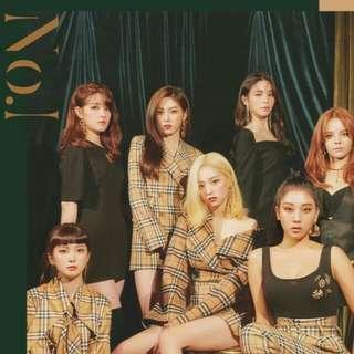(WTS) CLC No.1 album UNSEALED