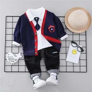 Baby uniform set