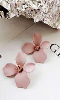 Floral Korean Sweet Earrings